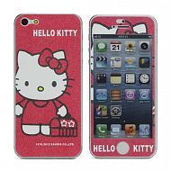 "iPhone 5 - Наклейка виниловая ""Adorable Hello Kitty"": Red"