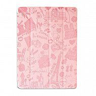 "iPad 2/3/4 - чехол-обложка ""OZAKI"" Paris Design Smart Stand Leather; Pink"