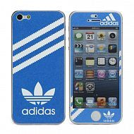 "iPhone 5 - Наклейка виниловая ""Adidas Frosted Pearl Decal"": Blue"