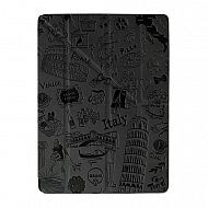 "iPad 2/3/4 - чехол-обложка ""OZAKI"" Rome Design Smart Stand Leather; Grey"
