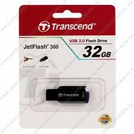 Флеш-накопитель 32Gb Transcend USB 2.0 JetFlash 360 Black