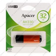 Флеш-накопитель 32Gb Apacer USB 2.0 AH330 Fiery Orange